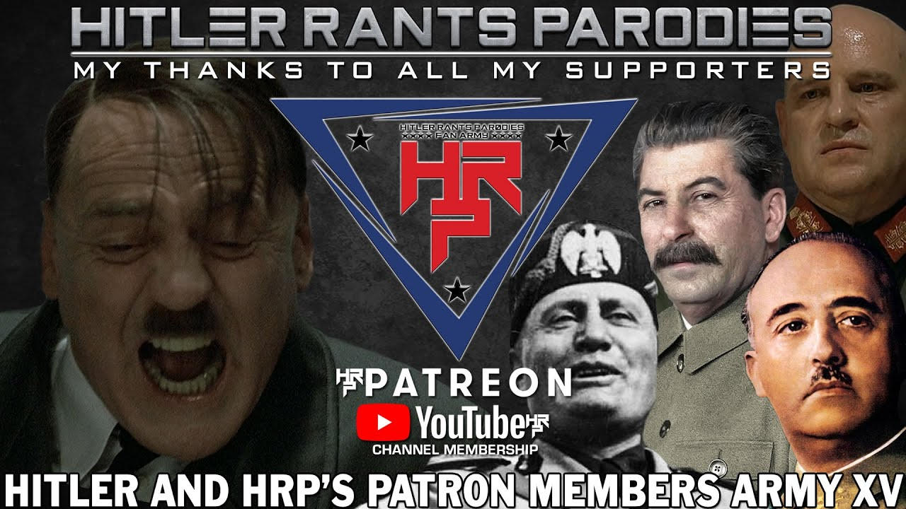 Hitler and HRP's Patron/Members Army XV