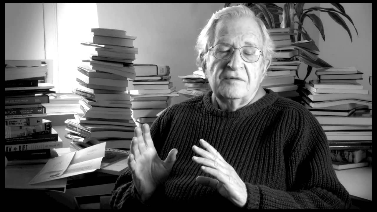 noam chomsky the purpose of education