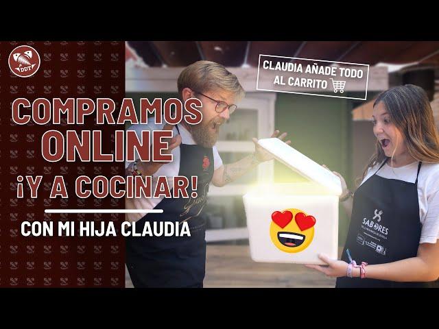 COMPRAMOS ONLINE para COCINAR *¡Claudia añade todo al carrito!*