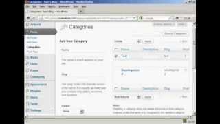 How to Use WordPress How to Add or Delete Categories in WordPress