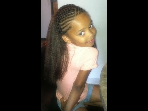 Crochet Hair Styles For Little Girl : Crochet Braids!( Kids style) - YouTube