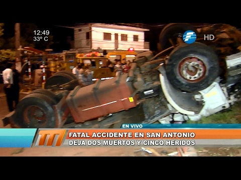 Cámara captó fatal accidente en San Antonio