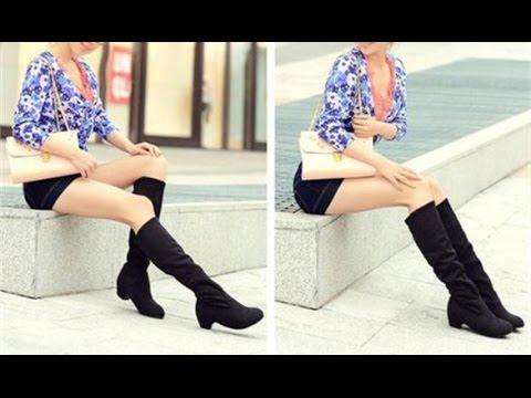 Женские модные зимние сапоги на высоком каблукеиз YouTube · Длительность: 1 мин29 с  · Просмотров: 238 · отправлено: 23.07.2014 · кем отправлено: Tyrkcub b1c2