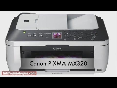 Canon printer pixma mx320 wireless setup & driver download canon.