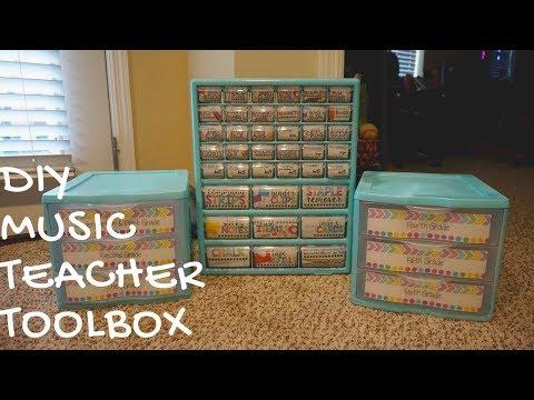 TEACHER HACKS // diy teacher toolbox
