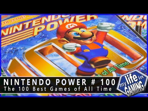 Nintendo Power #100: The 100 Best Games of All Time :: Magaz
