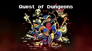 QUEST OF DUNGEONS by UpFall Studios, PS4 Gameplay (An Epic Dungeon Crawler)
