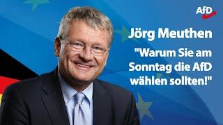 ❝Wählen Sie am 26. Mai die AfD!❞ | Jörg Meuthen