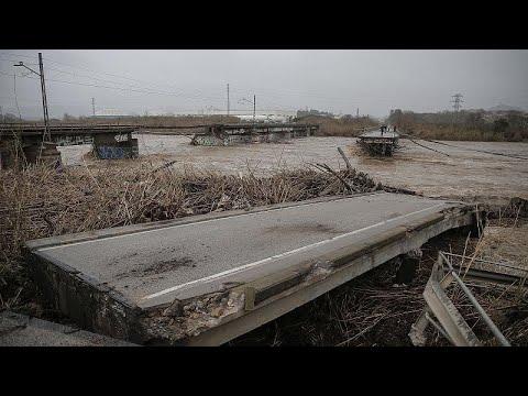 euronews (en español): El temporal Gloria deja diez muertos e incalculables destrozos en el levante español