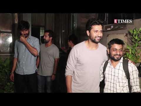 Vicky Kaushal spotted along with brother Sunny Kaushal in the city Mp3