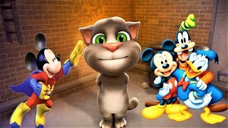 talking tom cat   video for kids   tom and friends   tom and mickey   baby learn about colors 71
