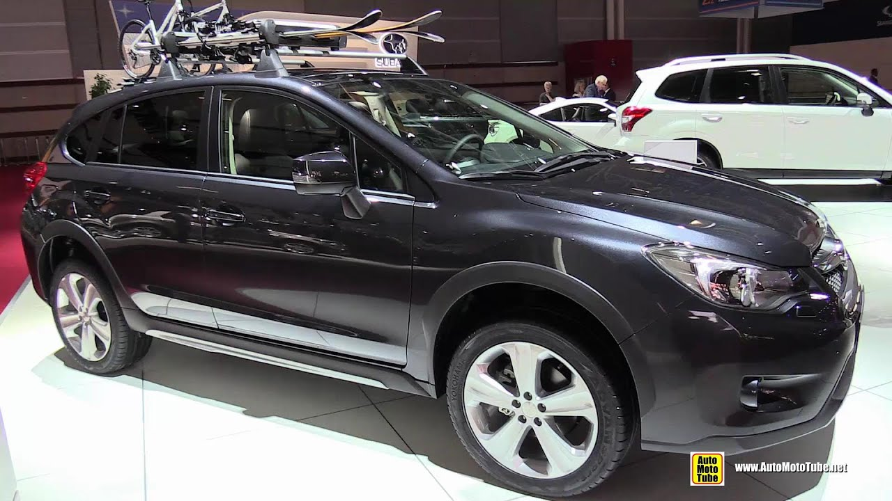 2015 Subaru XV 2 0d Diesel Exterior and Interior Walkaround 2014