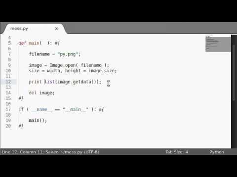 Python [PIL Image] 11 GetData