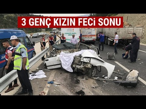 Kahramanmaraş'ta Feci Kaza! 3 Genç Kızın Acı Sonu