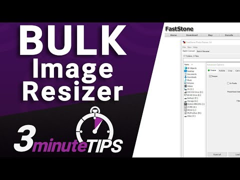 BULK Image Resizer - The Tool I Use To Resize Many Images - NOT Photoshop
