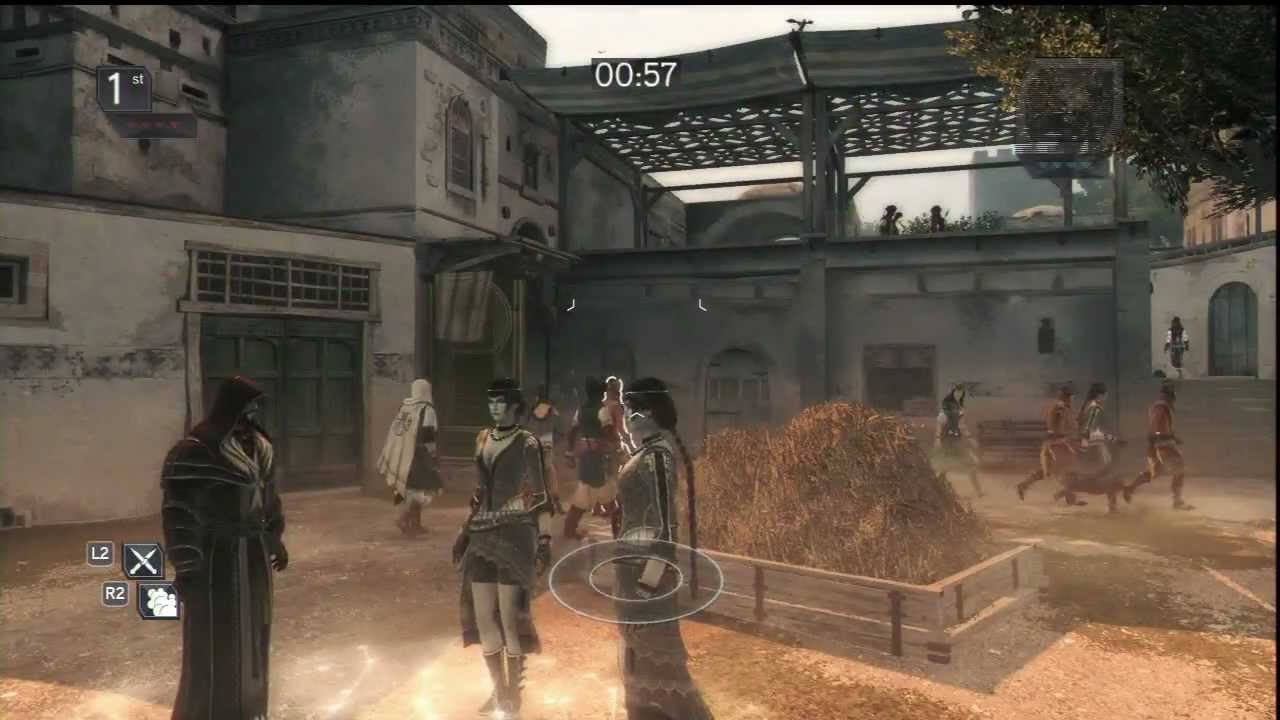 Assassins Creed Revelations Wanted Trickster Gameplay Ps3