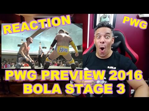 PWG Preview 2016 Battle of Los Angeles - Stage 3 REACTION!!!