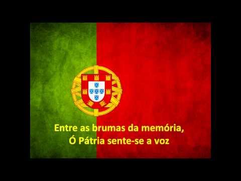 Hino Nacional de Portugal - A Portuguesa (Grande Orquestra com coro)