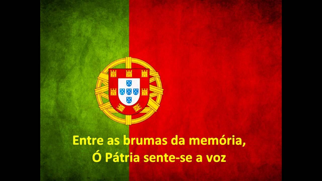 letra do hino nacional a portuguesa