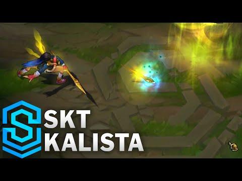 SKT Kalista Skin Spotlight - League of Legends