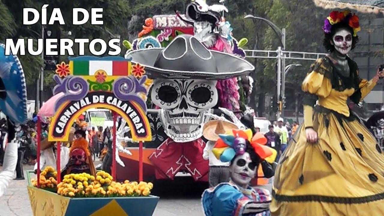 DESFILE COMPLETO DÍA DE MUERTOS PARADE CIUDAD DE MÉXICO