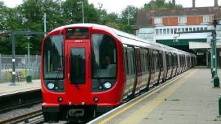 The New London Underground S stock is now in service!