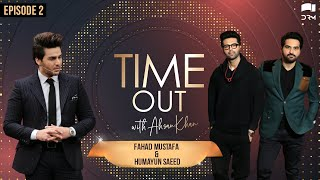 Time Out with Ahsan Khan | Humayun Saeed and Fahad Mustafa | IAB2O | Express TV