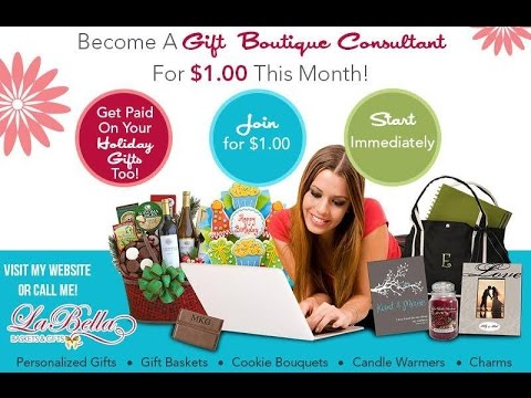 HOME BASED GIFT BUSINESS OPPORTUNITY!