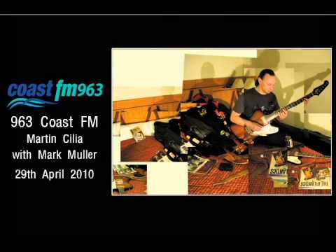 Martin Cilia on Coast FM radio 963 with Mark Muller, 29th April 2010