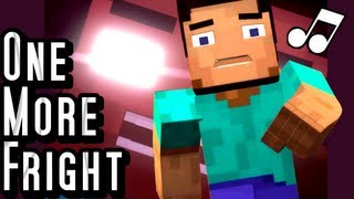 one more fright a minecraft parody of maroon 5 s one more night music video