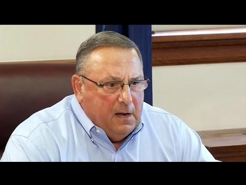 Maine's Gov. LePage leaves obscene voicemail for lawmaker