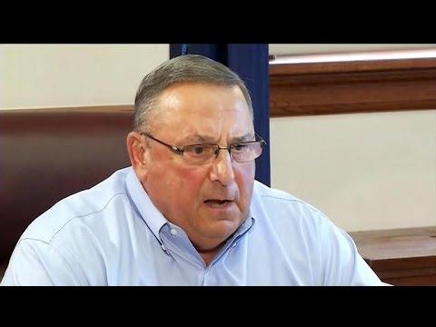 Maine's Gov. LePage leaves obscene voicemail for lawmaker