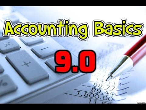 Accounting Basics 9.0: Cash Flow Statement - Background Information