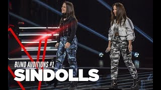 "Sindolls ""Shume Pis\"" - Blind Auditions #1 - TVOI 2019"