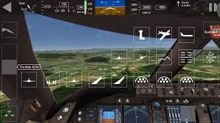 Aerofly FS1 - 747 Landing Zurich