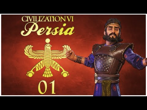 Civilization 6 as Persia - Episode 1 ...A Very Unfortunate Neighbor...