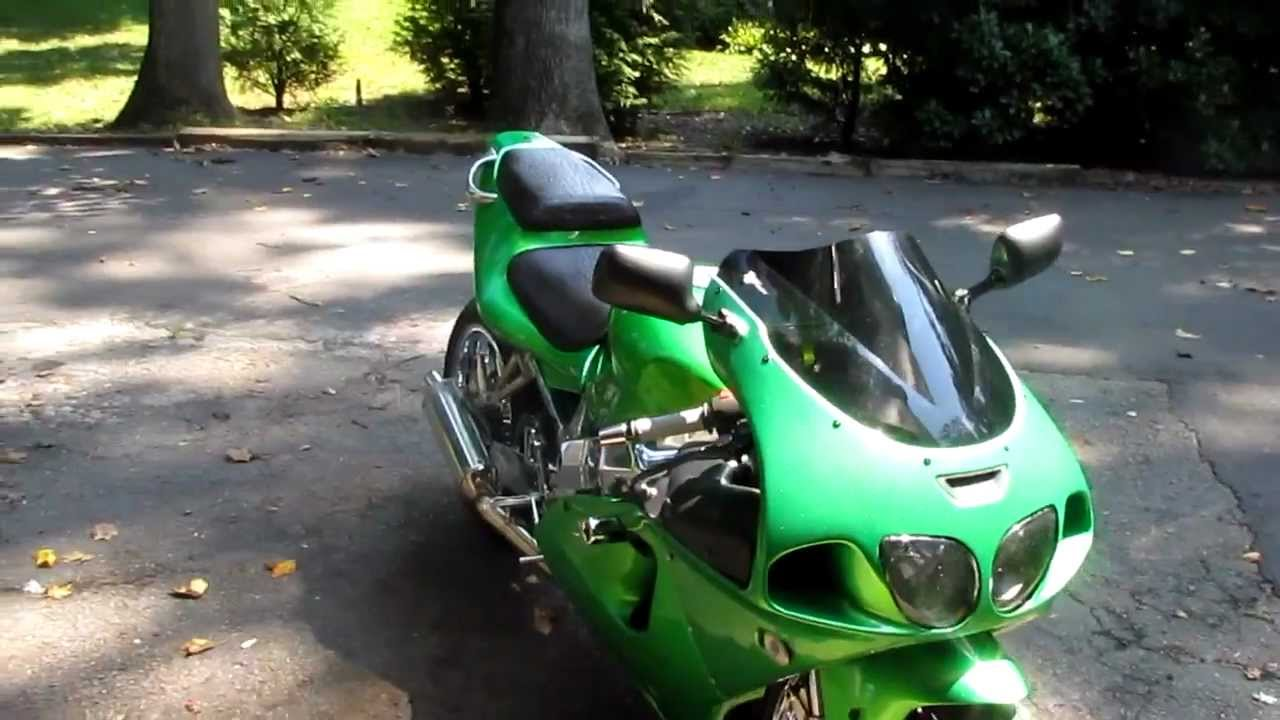Kawasaki Zx7r Stretched And Chromed Custom