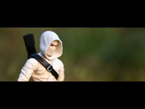 Articulated IconsThe Feudal Series Deluxe WHITE NINJA Action Figure Review