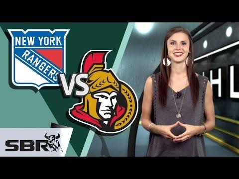 NHL Picks on the Rangers vs Senators Thursday Night Battle