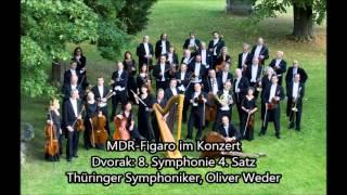 Dvorak 8. Symphonie, 4. Satz. Thüringer Symphoniker, Oliver Weder