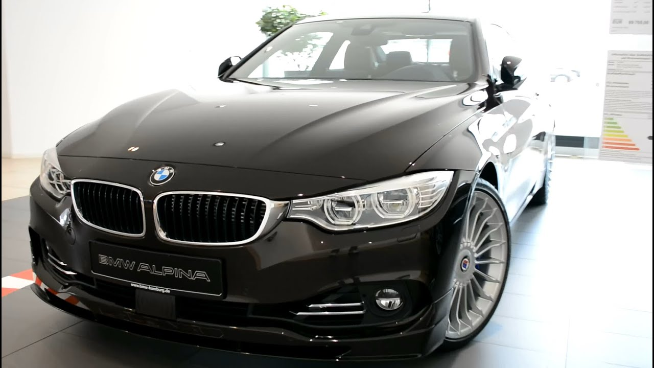 2015 new bmw 4er alpina b4 biturbo coupe f32 youtube. Black Bedroom Furniture Sets. Home Design Ideas