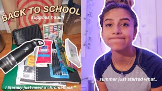 shopping for back to school supplies rip summer 2021