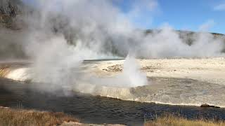 Geyser at Black Sand Basin, Yellowstone National Park