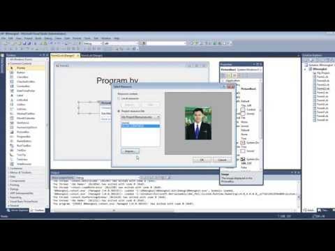 07การสร้างเมนูด้วยโปรแกรม Visual Basic 2010