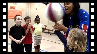 Globetrotter, Sweet-J talks about bullying