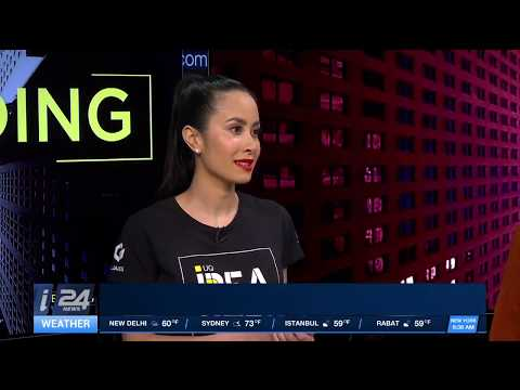 UQ Idea Hub - Tel Aviv Startup Adventure '17 in the media with i24NEWS