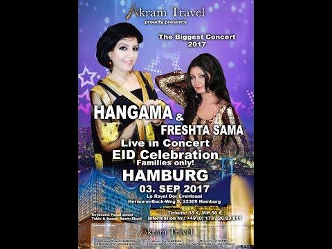 Hangama & Freshta Sama Live in Concert 2017 in Hamburg