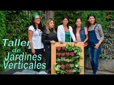 Como instalar un jard n vertical jard n urbano peru for Jardines verticales lima