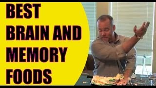 Top Brain Foods | Memory Improvement Nutrition | Foods good for Memory