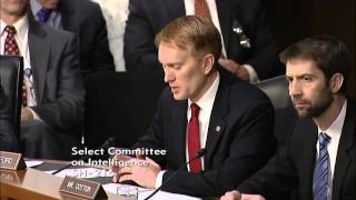 Senator Lankford Questions Intelligence Agency Directors at Intel Hearing
